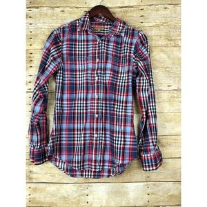 🔸Jachs Girlfriend multi-color Plaid Button Shirt